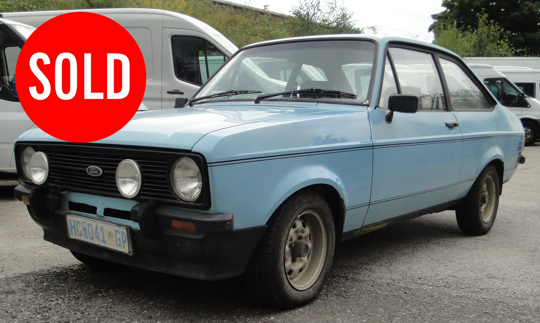 SOLD – 1980 FORD ESCORT MK2 1600 SPORT PROJECT – Blog – Berlinetta CCA