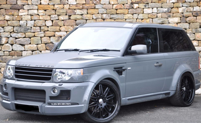 Lot 6 - Range Rover Sport Coupe SOLD for £33,000
