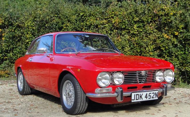 Lot 2 - 1975 Alfa GT 1600 Junior SOLD for £18,750