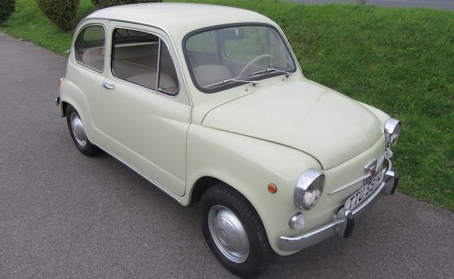 Lot 3 - 1970 Fiat 600D.            *REGRETTABLY WITHDRAWN*
