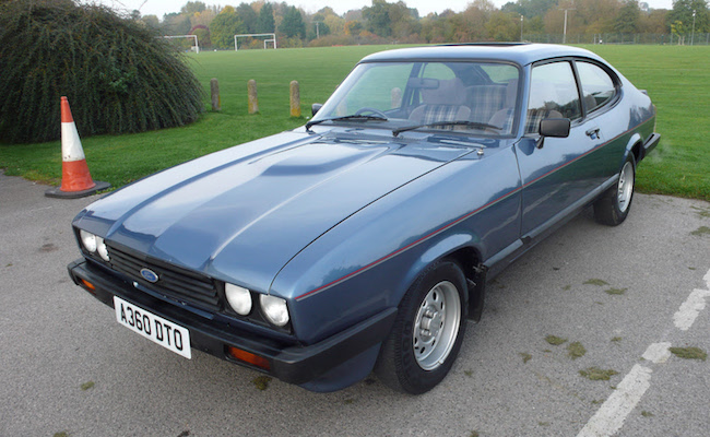 Lot 5 - 1984 Ford Capri 1.6 LS  SOLD for £5,500