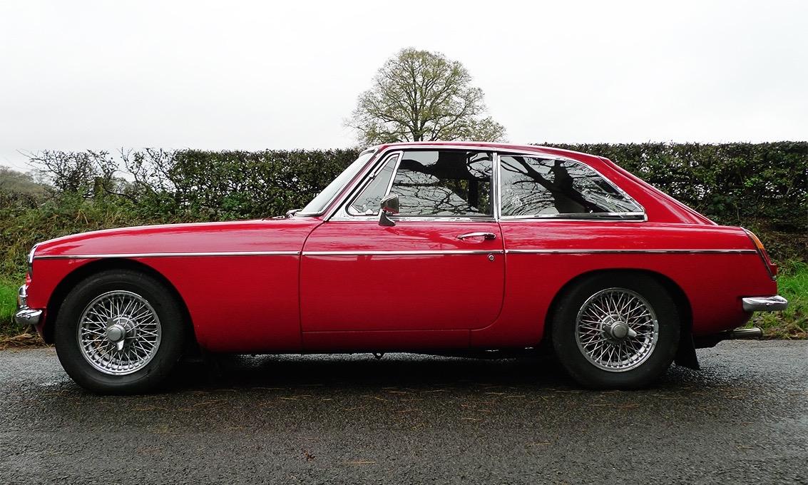 Lot 17  1967 Mk1 MGB GT