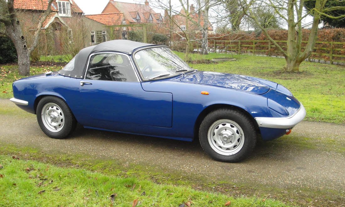Lot 02 - 1968 Lotus Elan S3 SE SOLD for £19,950