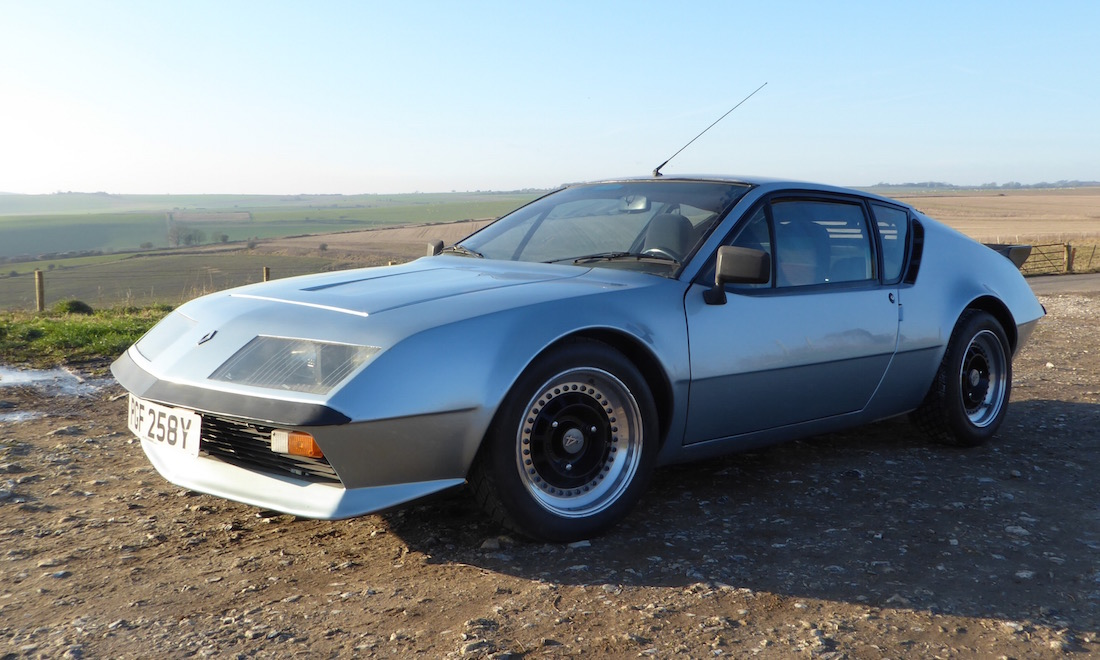 Lot 03 - 1980 Renault Alpine A310.  SOLD for £14,000