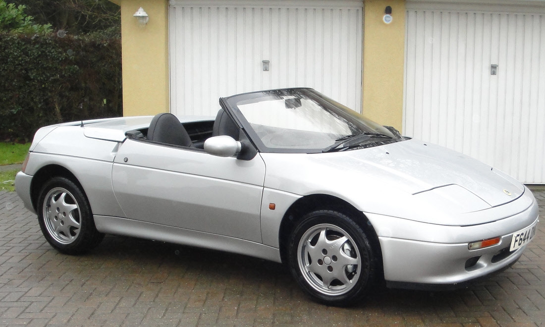 Lot 06 - 1989 Lotus Elan SE. The oldest known survivor.  Not sold