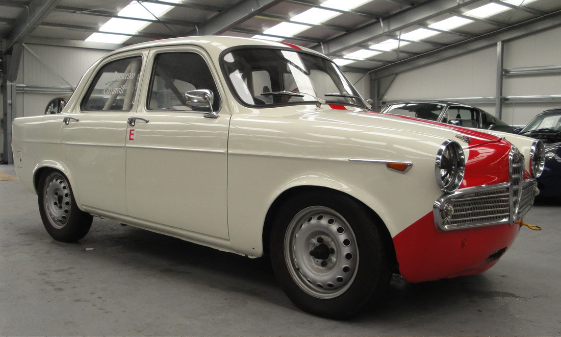 Lot 8 - 1960 Alfa Romeo Giulietta TI  Still available, please contact us