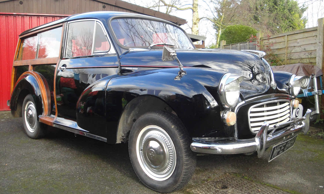 Lot 05 - 1970 Morris Minor SOLD for £5,500