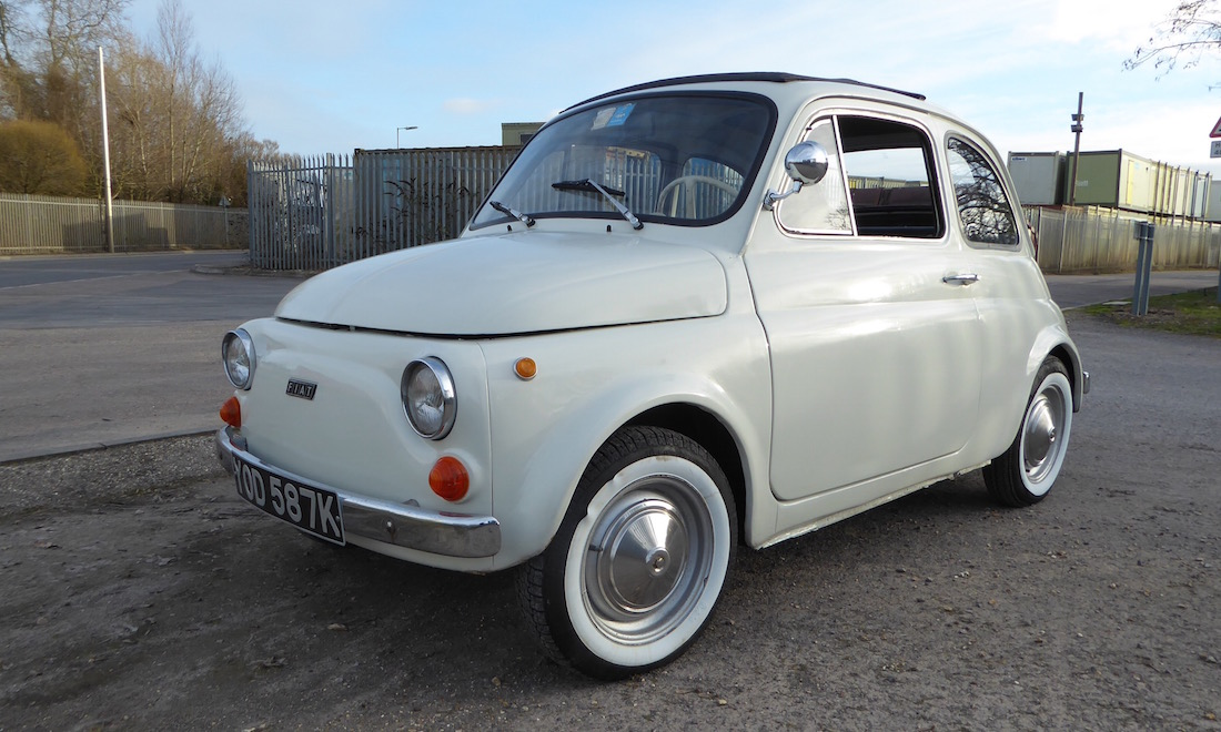 Lot 12 - 1972 Fiat 500F SOLD for £3,412.50