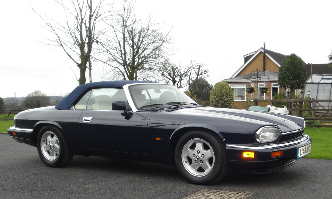 Lot 14 - 1994 Jaguar XJS Convertible SOLD for £13,325