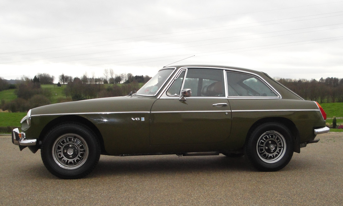 Lot 15 - 1975 MGB GT V8 Not Sold. Sorry, no longer available