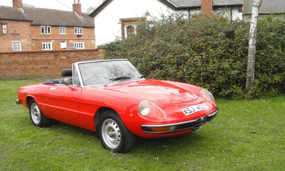 Lot 19 - 1978 Alfa Romeo 2000 Spider Veloce. SOLD for £16,485