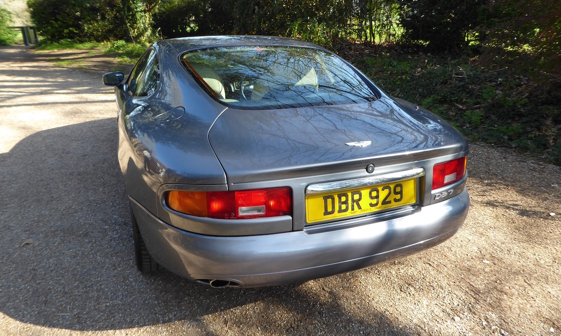 Lot 20 - 1995 Aston Martin DB7 3.2 Coupe.  SOLD for £24,728