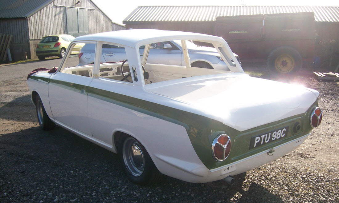 Lot 16 - 1965 Lotus Cortina. Our apologies. Sold by owner prior to the end of the auction.