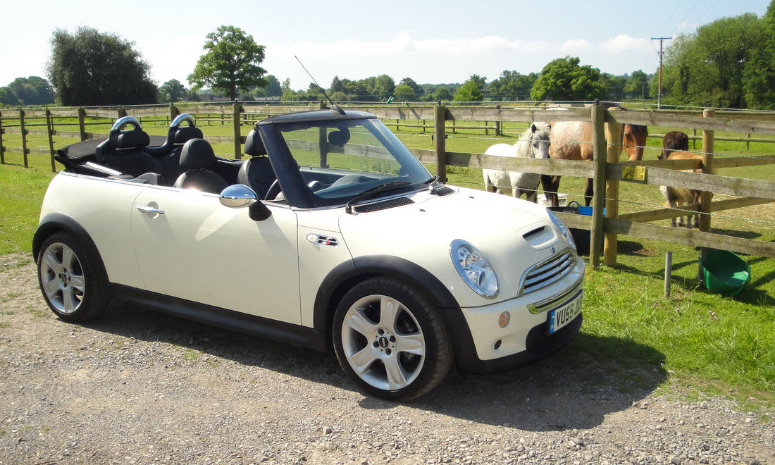 Lot 22 - 2006 Mini Cooper 'S' Convertible Not Sold. Sorry, no longer available