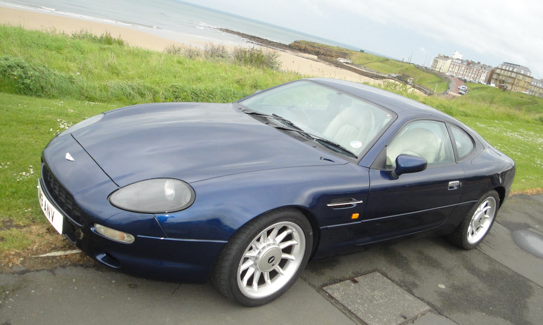 Lot 21 - 1998 Aston Martin DB7 3.2 Coupe SOLD for £18,375