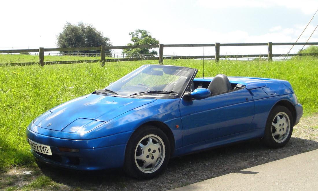 Lot 23 - 1990 Lotus Elan SE SOLD for £5,460