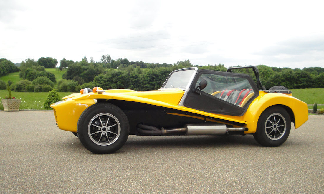 Lot 24 - 1973 Lotus 7 Series 4 Twin Cam SOLD for £13,320