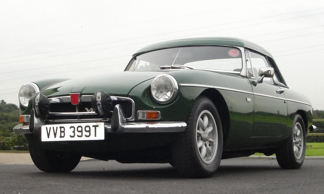 Lot 35 - 1979 MGB V8 Roadster SOLD for £8,925