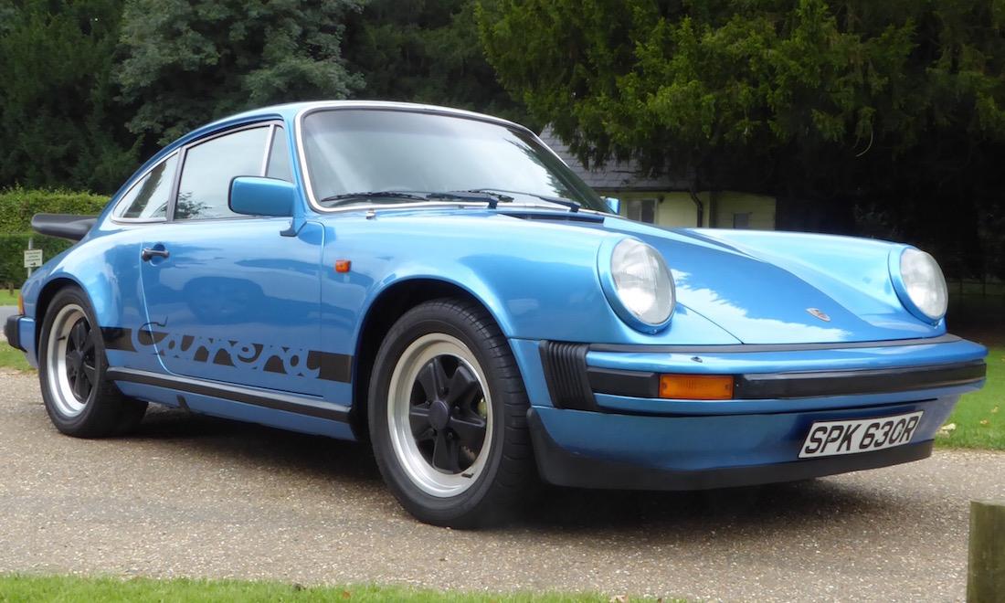 Lot 36 - 1977 Porsche 911 3.0 Carrera Sport Coupé SOLD for £89,250