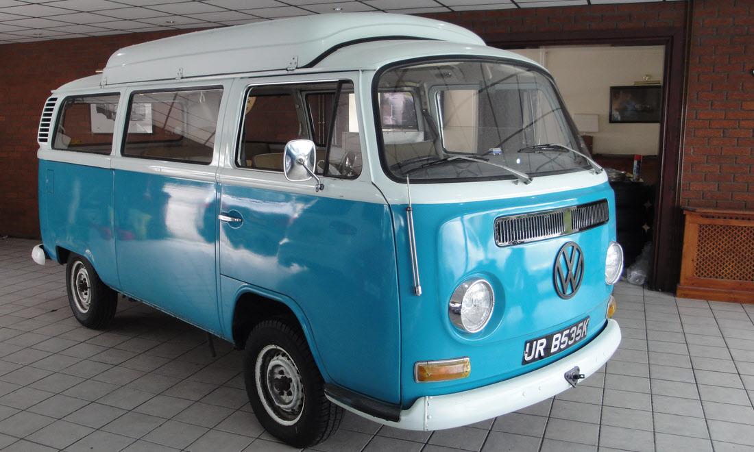 Lot 37 - 1971 Volkswagen T2 Camper Van 'Dormobile' Not Sold. Please contact us