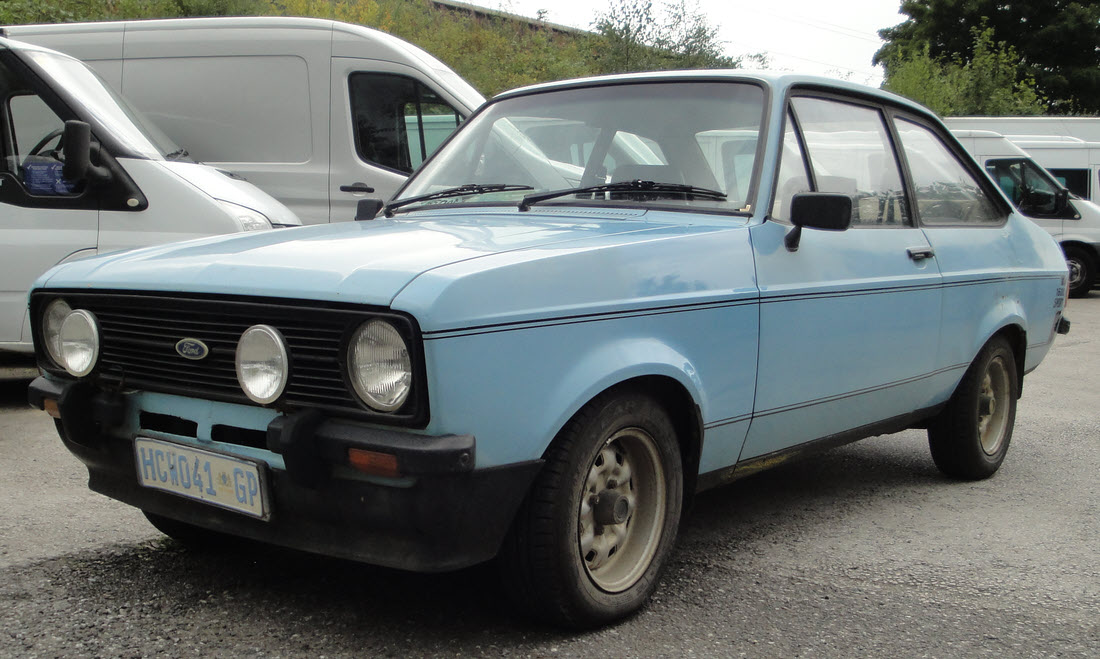 Lot 38 - 1980 Ford Escort MK2 1600 Sport Project SOLD for £7,928