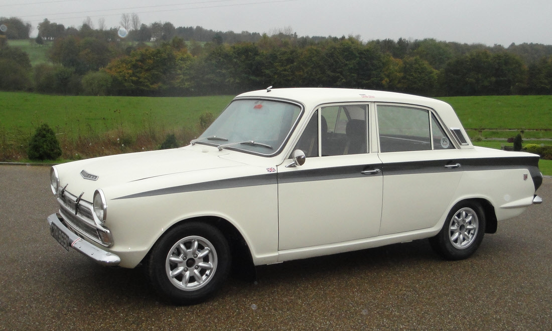 Lot 45 - 1965 Ford Cortina GT to Historic Rally Specification Now Sold.