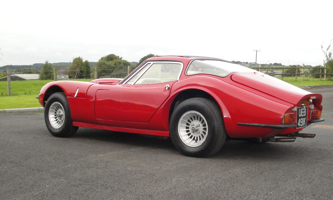 Lot 40 - 1972 Marcos GT – The final car produced SOLD for £12,390