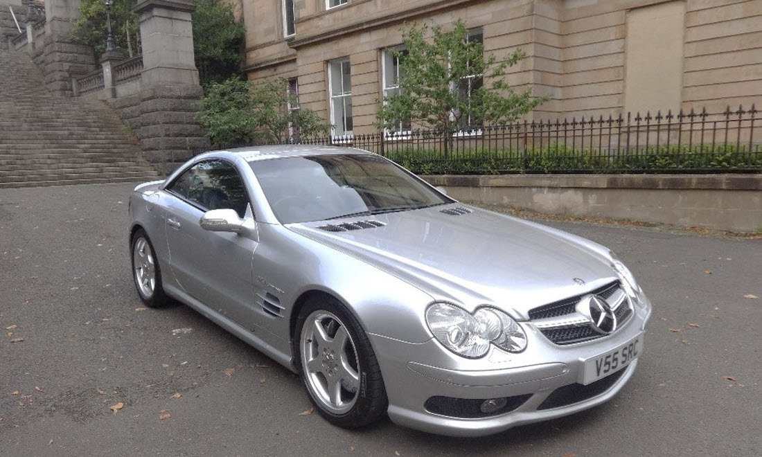 Lot 42 - 2003 Mercedes-Benz SL55 AMG SOLD for £21,000