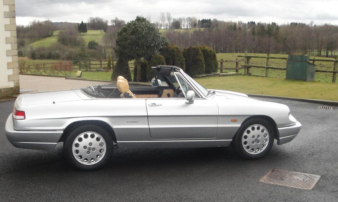 Lot 48 - 1992 Alfa Romeo 2000 Spider Series 4. Coachwork by Pininfarina Now sold