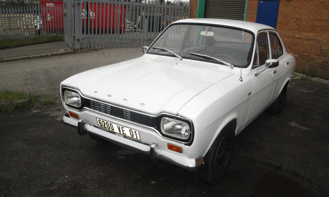 Lot 51 - 1970 Ford Escort 1300 GT SOLD for £5,250