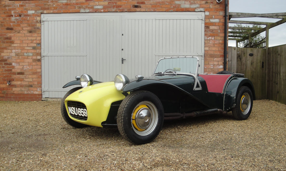 Lot 52 - 1962 Lotus Super Seven, S2  SOLD for £25,777.50
