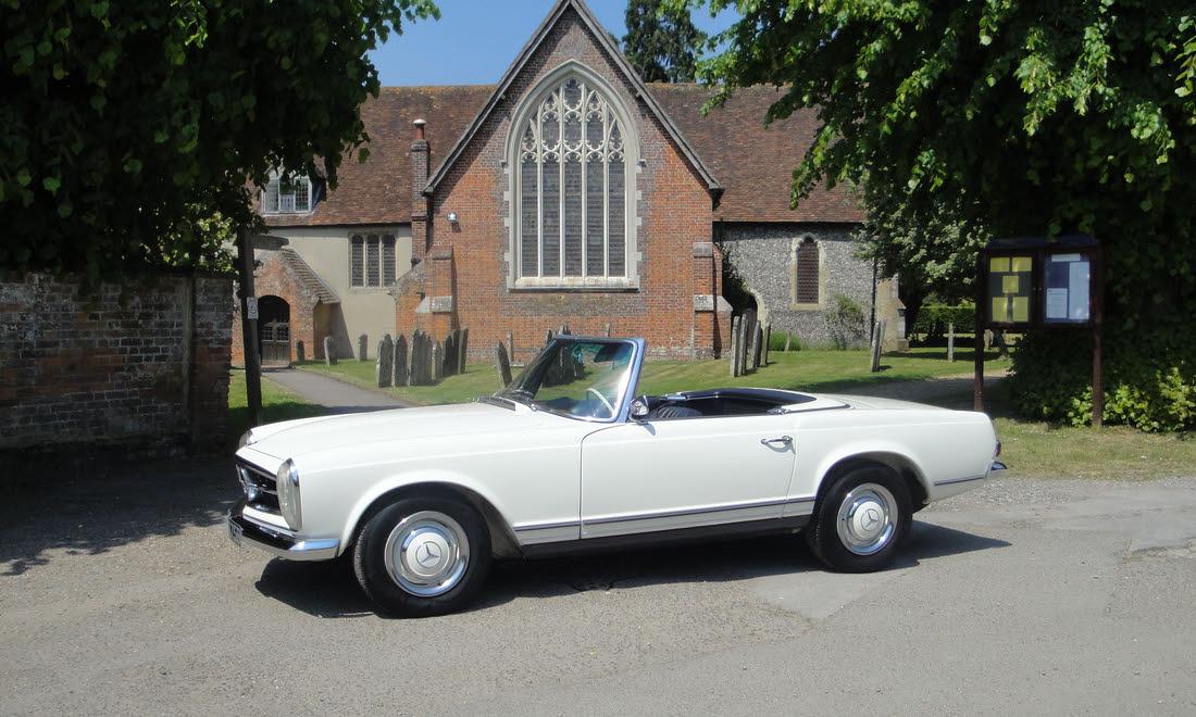 Lot 54 - 1964 Mercedes 230 SL  SOLD for £49,402.50