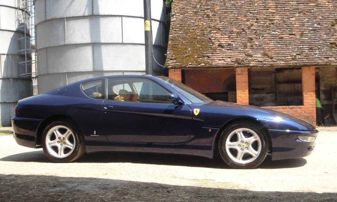 Lot 55 - 1995 Ferrari 456 GT. Coachwork by Pininfarina  No longer available