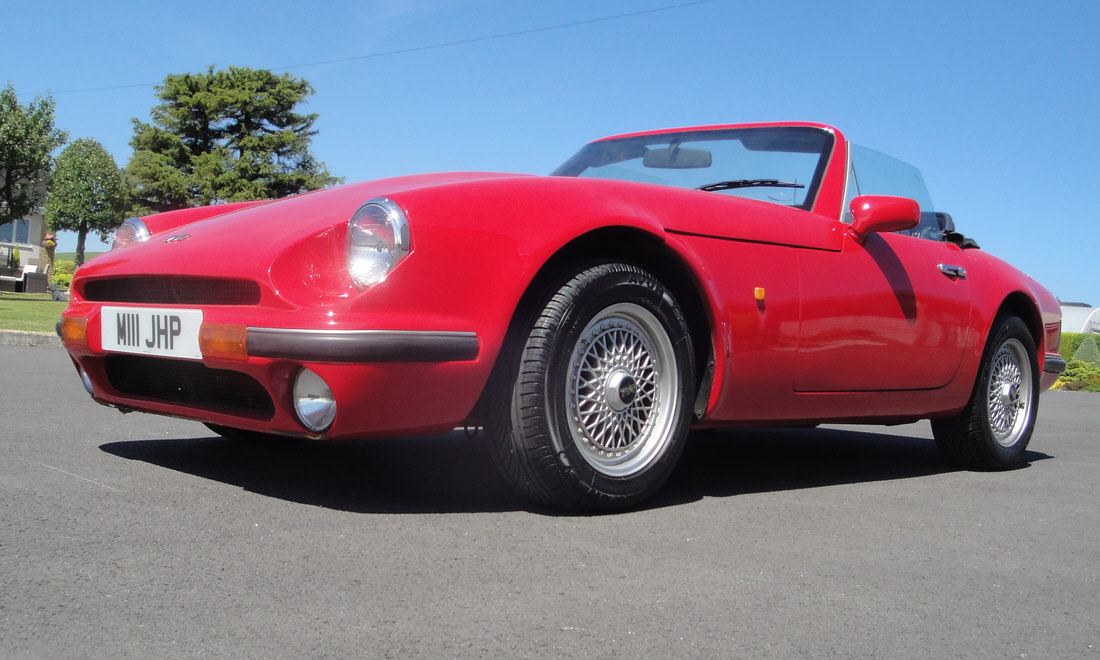 Lot 58 - 1994 TVR V8S Not Sold. Please contact us