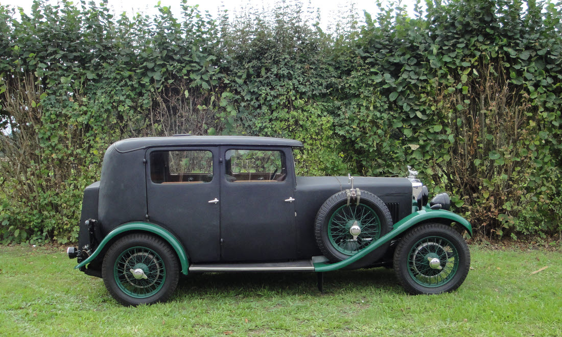Lot 60 - 1931 18/80 MG Six Sports Mark 1 Four-Door Saloon, Coachwork by Carbodies
