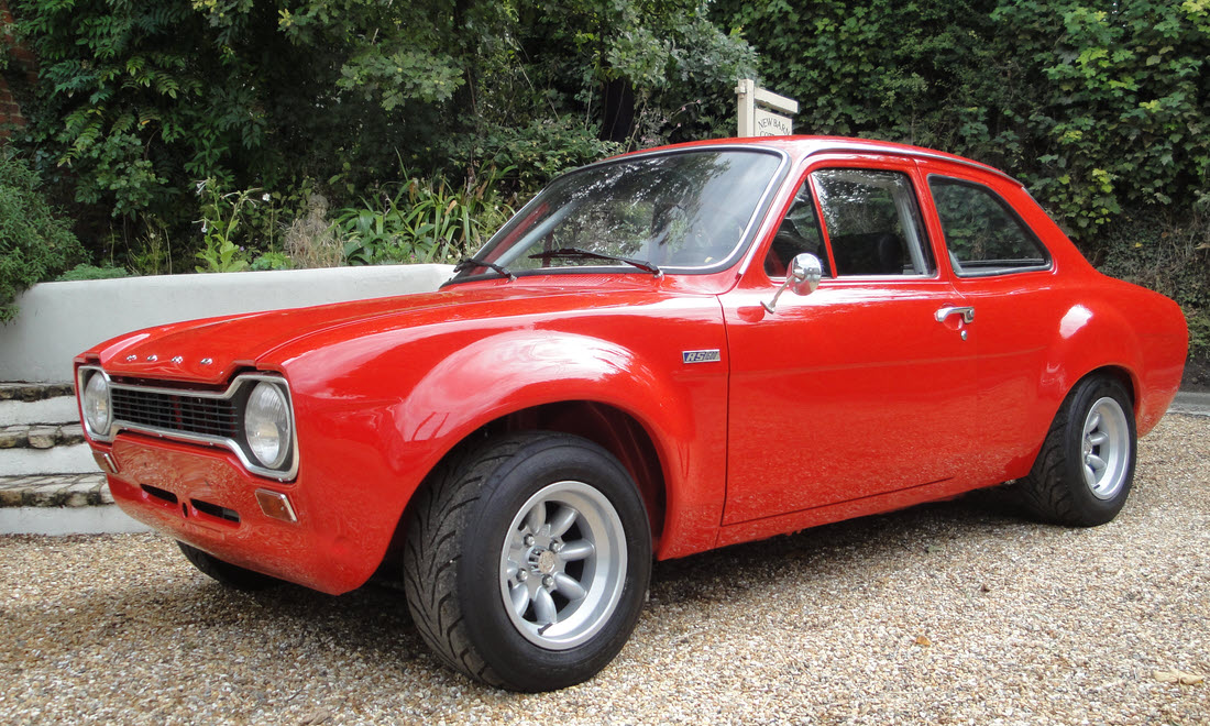 Lot 62 - 1972 Ford Escort RS 1600 SOLD for £44,100