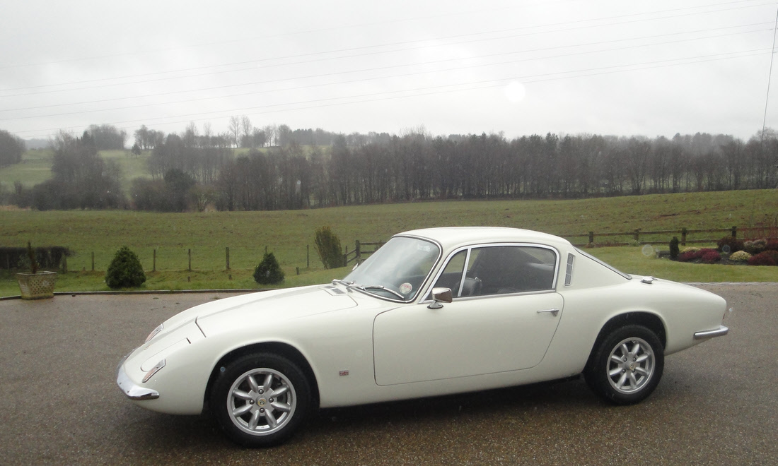 Lot 63 - 1968 Lotus Elan +2 Zetec Now sold