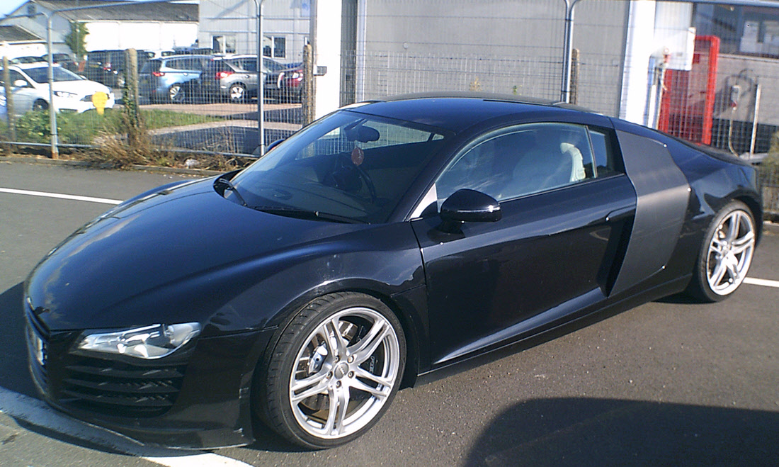 Lot 64 - 2008 Audi R8 FSI V8 Quattro Coupe Regrettably Withdrawn