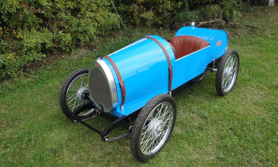 Lot 67 - 2015 Bugatti Type 13 Brescia 'Soapbox/CycleKart' racer  Not Sold. Please contact us