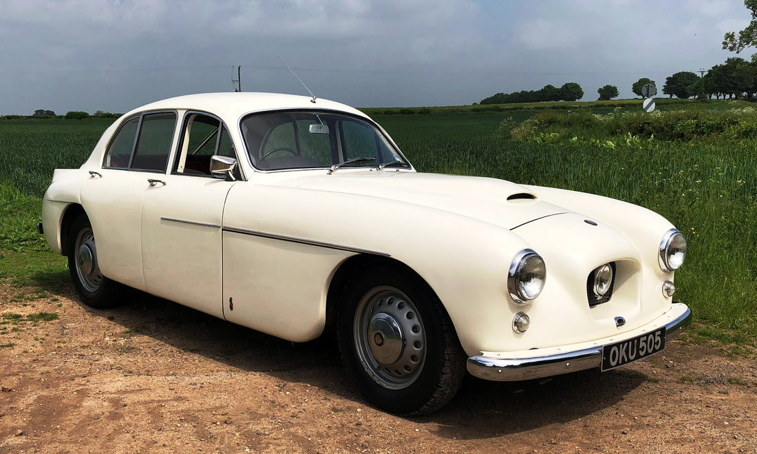 Lot 71 - 1957 BRISTOL 405 SPORTS SALOON Not Sold. Please contact us