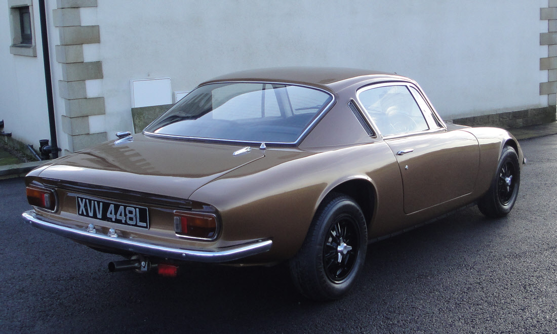 Lot 74 - 1973 Lotus Elan +2S 130/5 Coupé SOLD for £14,750