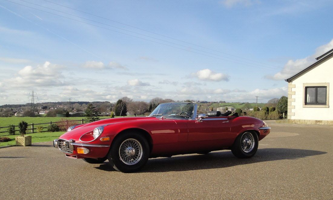 Lot 75 - 1973 Jaguar E-Type Series 3 Roadster SOLD for £50,500