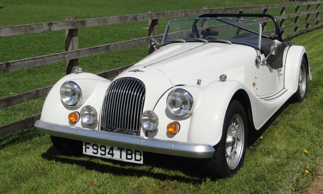 Lot 81 - 1989 Morgan Plus 8 Not Sold. Please contact us