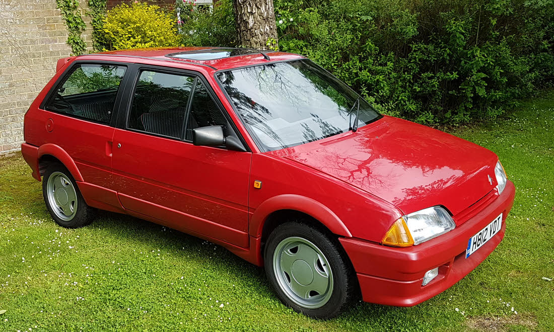 Lot 82 - 1991 Citroen AX GT 'Mk 1' To be reoffered