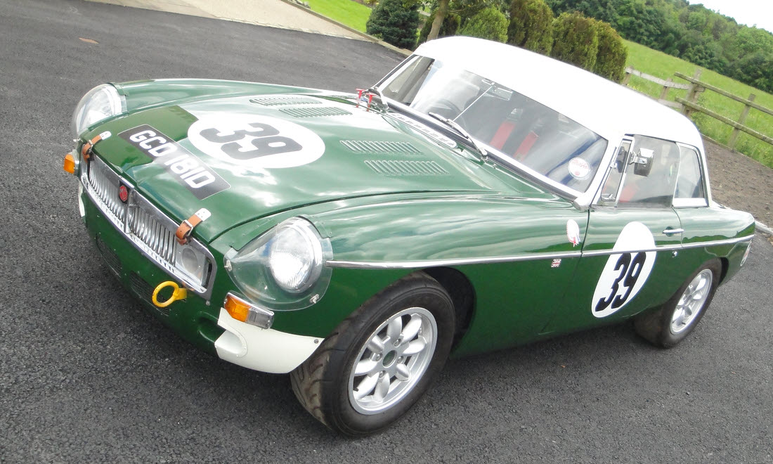 Lot 83 -  1966 MGB Competition Roadster SOLD for £10,400