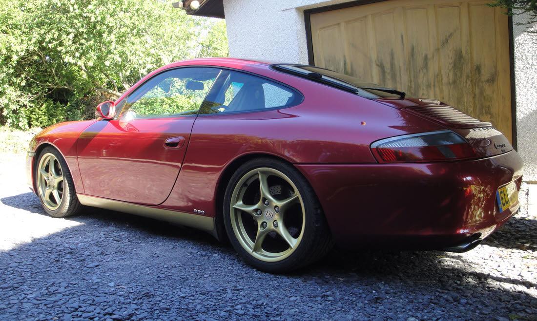 Lot 85 - 2002 Porsche 911 Carrera Type 996 Coupé SOLD for £12,600