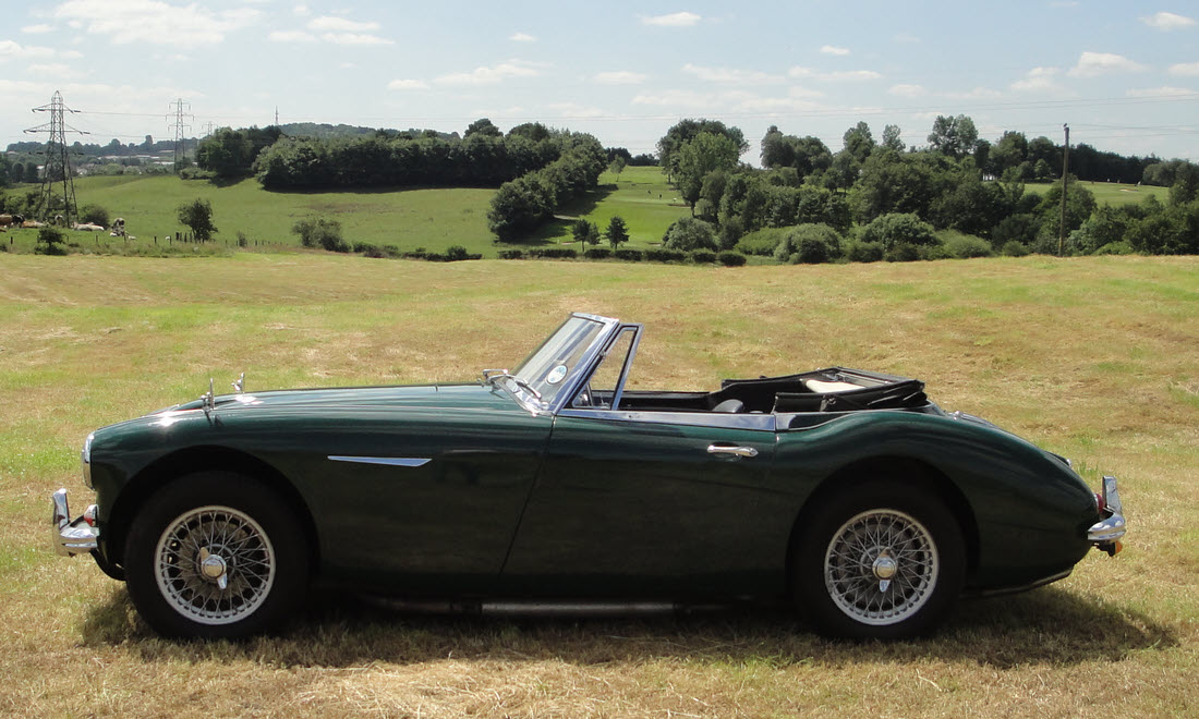 Lot 87 - 1965 AUSTIN HEALEY 3000 MK III BJ8 SOLD for £44,625