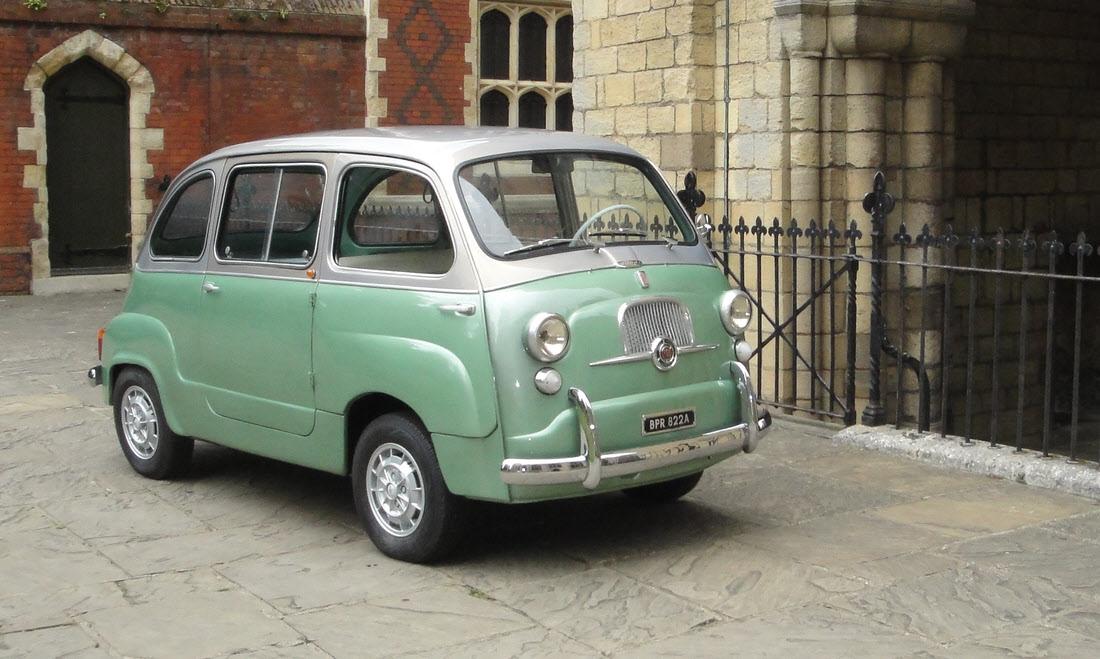 Lot 90 - 1963 FIAT 600D Multipla SOLD for £16,800