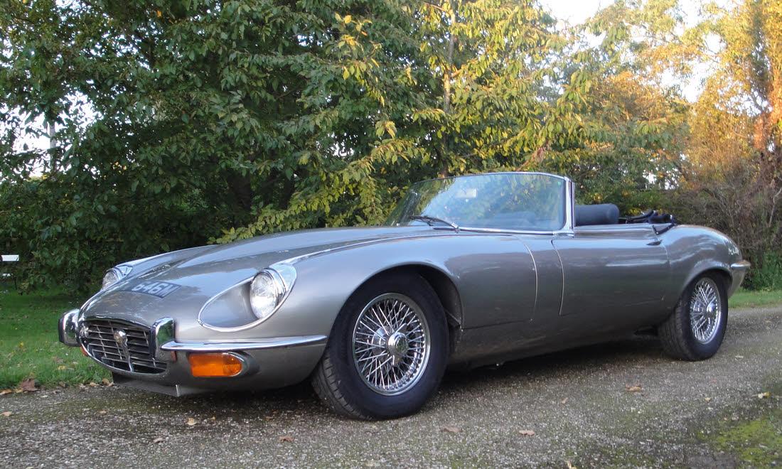 Lot 95 - 1973 Jaguar E-Type Series 3 Roadster SOLD for £50,925