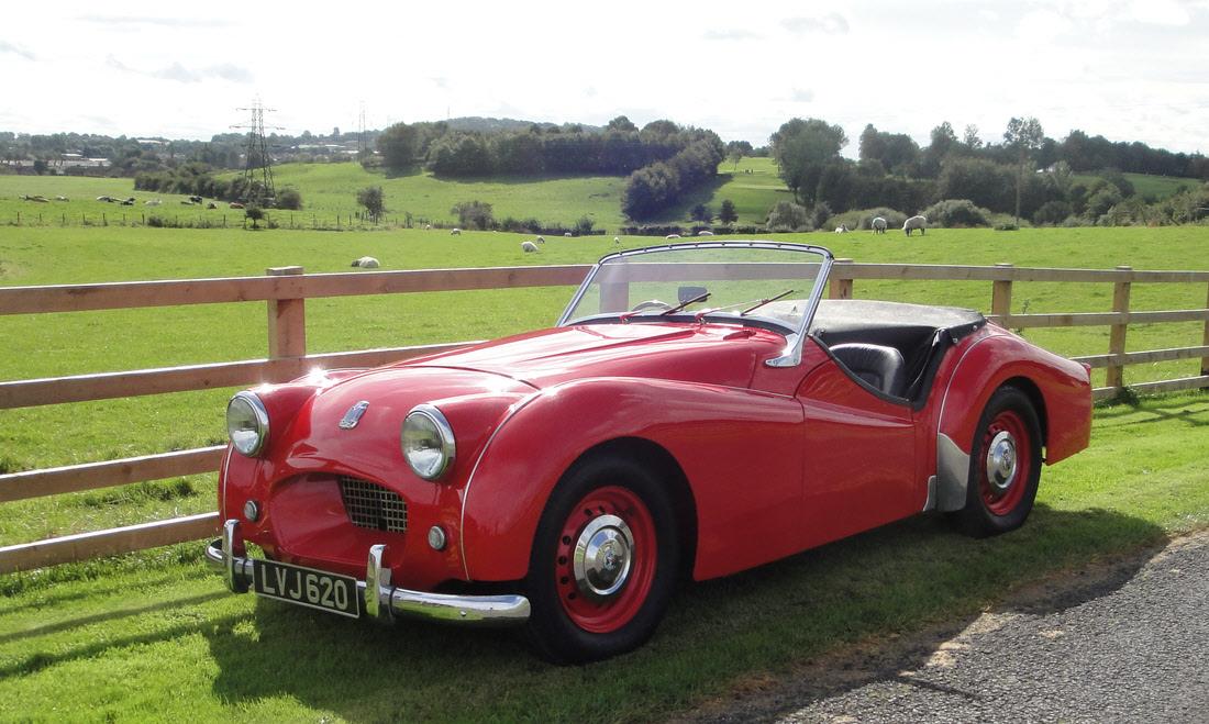 Lot 96 - 1954 Triumph TR2 Long Door Now sold